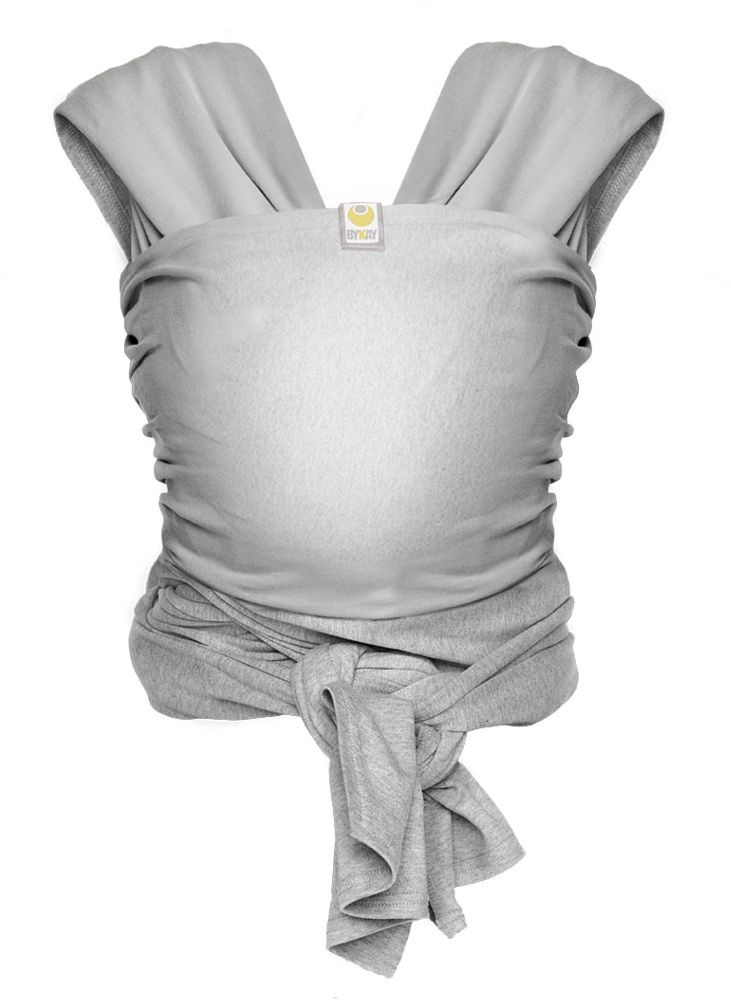 ByKay chusta STRETCHY WRAP DeLuxe L Grey 0