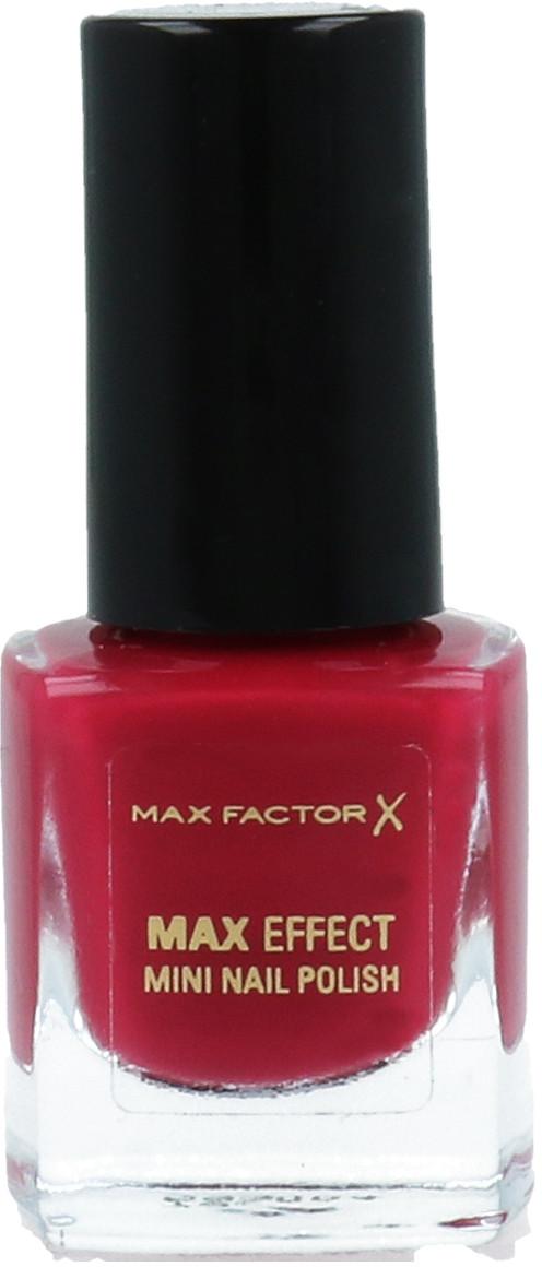 Max Factor Mini Nail Polish Mini Lakier Do Paznokci 63 Pandora Ruby 96082072
