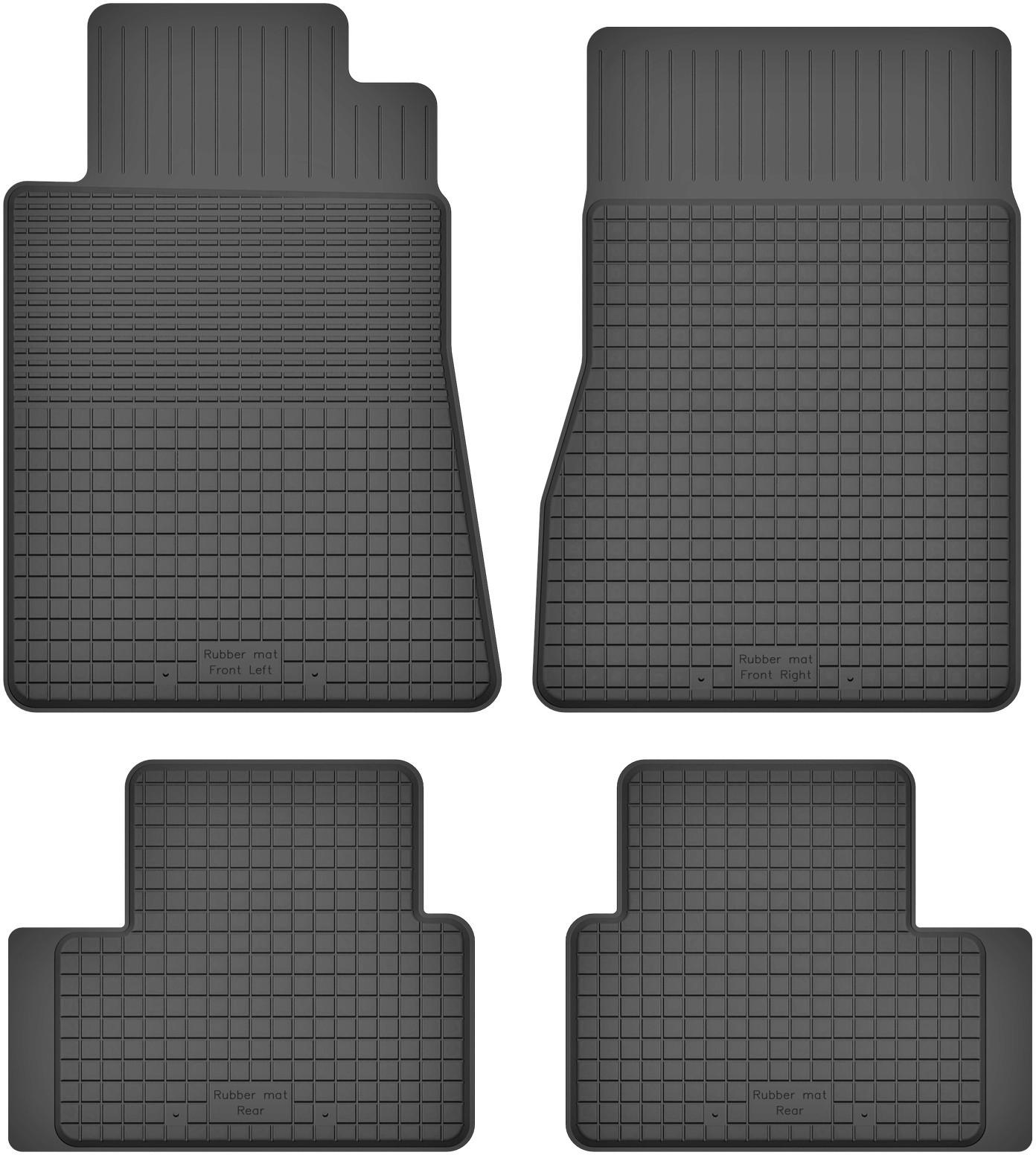 MotoHobby Mercedes B-Klasa W245 (2004-2011) - dywaniki gumowe korytkowe