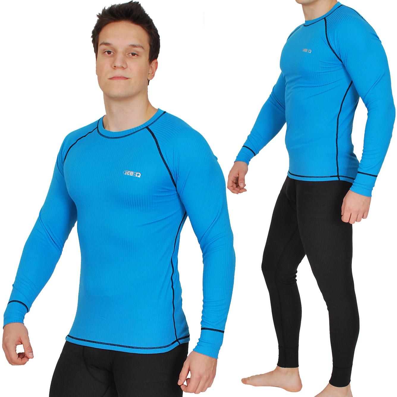 Ice-Q Męska bielizna termoaktywna Ice-Q Smart Man Blue/Black