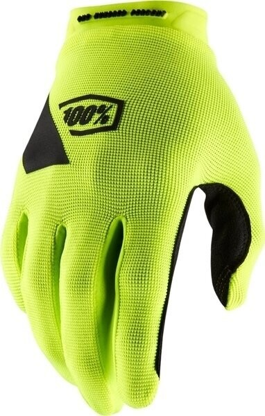 100% 100% RIDECAMP Gloves Fluo Yellow 2XL