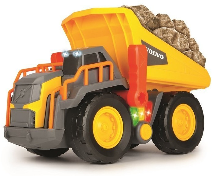 Dickie Toys Wywrotka Volvo Construction z 3 światłami i dźwiękiem Toys 725335