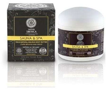 Siberica PROFESSIONAL Sauna&Spa Thick Natural Daurian Body Butter gęste daurskie masło do ciała 370ml 42578-uniw