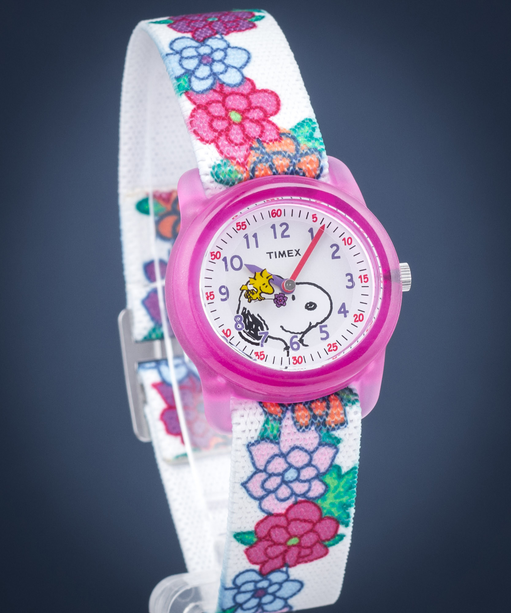 top Timex Peanuts Snoopy&Flowers TW2R41700