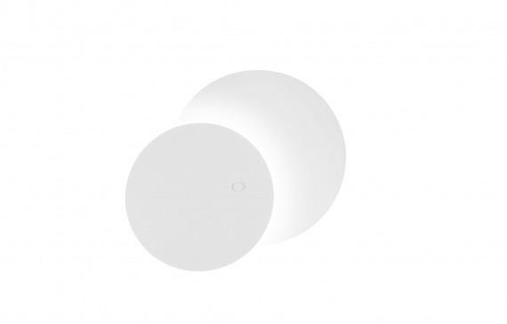 Estiluz Kinkiet Eclipsi A-3701 okrągła oprawa w kolorze białym A-3701