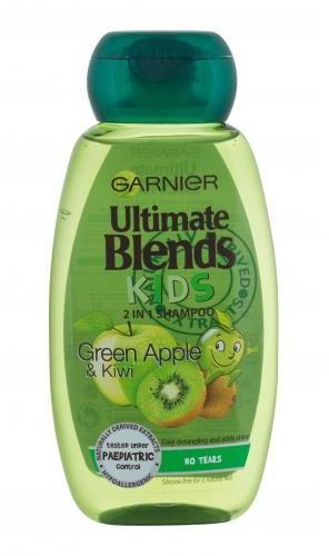Garnier Ultimate Blends Kids Green Apple 2in1 szampon do włosów 250 ml dla dzieci