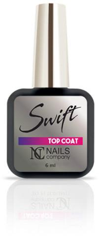 NAILS COMPANY SWIFT TOP COAT Nails Company 6ml bez przemywania