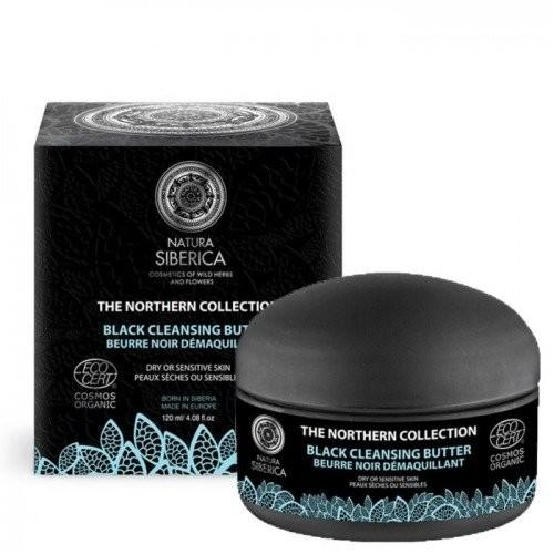 Natura Siberica Natura Siberica Czarne masło oczyszczające do mycia i demakijażu twarzy 120ml