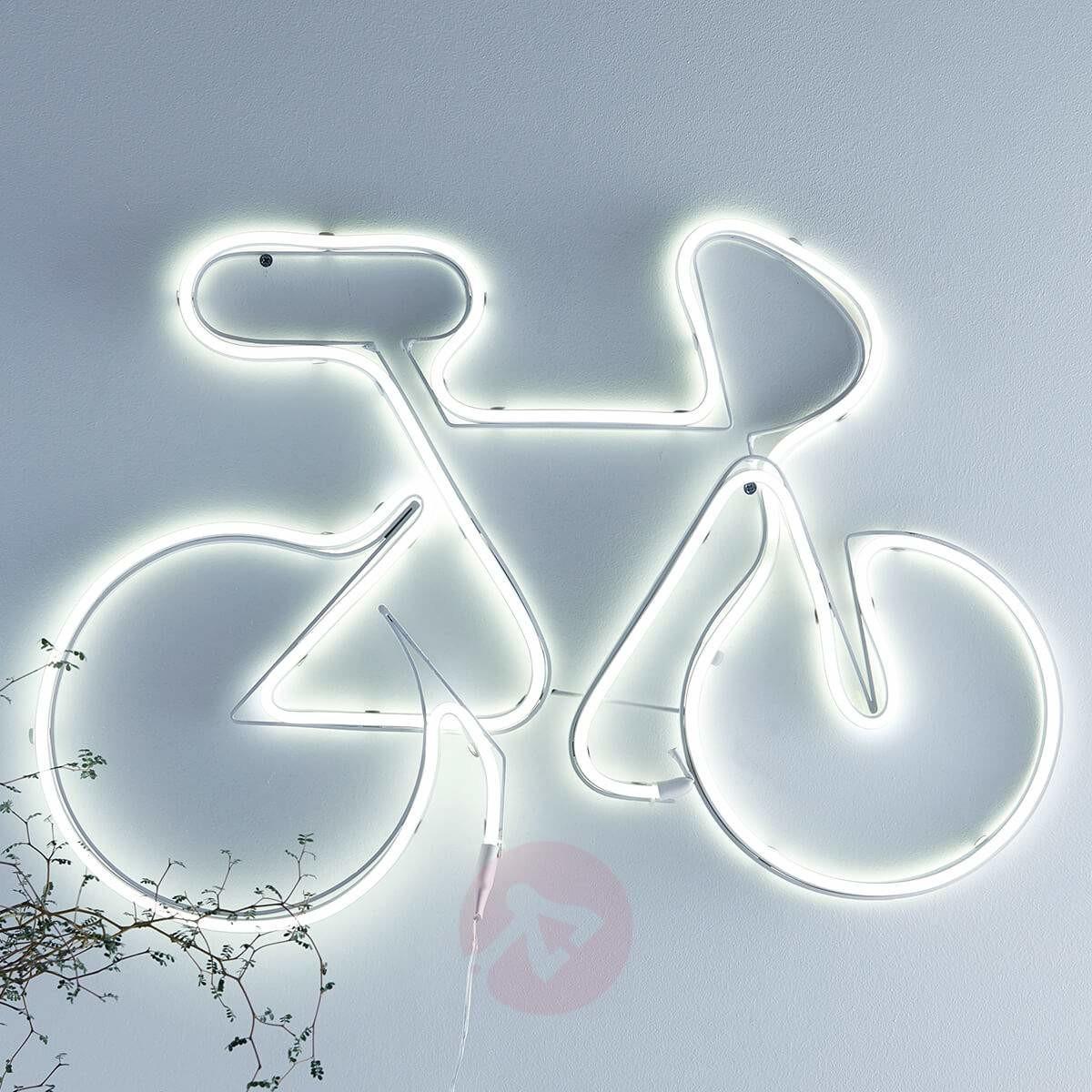 Markslojd NEW YORK Dekoracja LED Rower Biały 704159