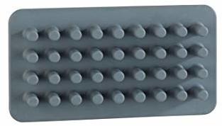 Wenko 23496100 żel kosmetyczny Ampio szary - przechowywanie kosmetyków, organizer do makijażu, mocowanie bez wiercenia, silikon, 15 x 8 x 2 cm