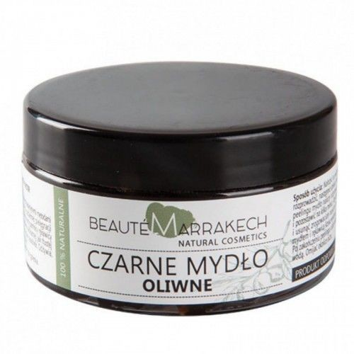 Savon Noir Beaute marrakech Naturalne czarne mydło oliwne 100g C5A7-73603