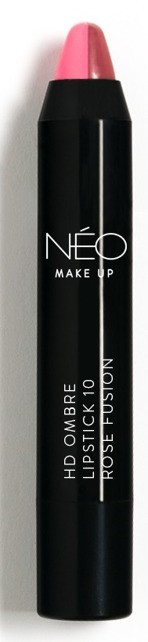 Neo Make Up Neo Make Up HD Ombre Lipstick Pomadka do ust Ombre 10 Rose fusion 37958-uniw