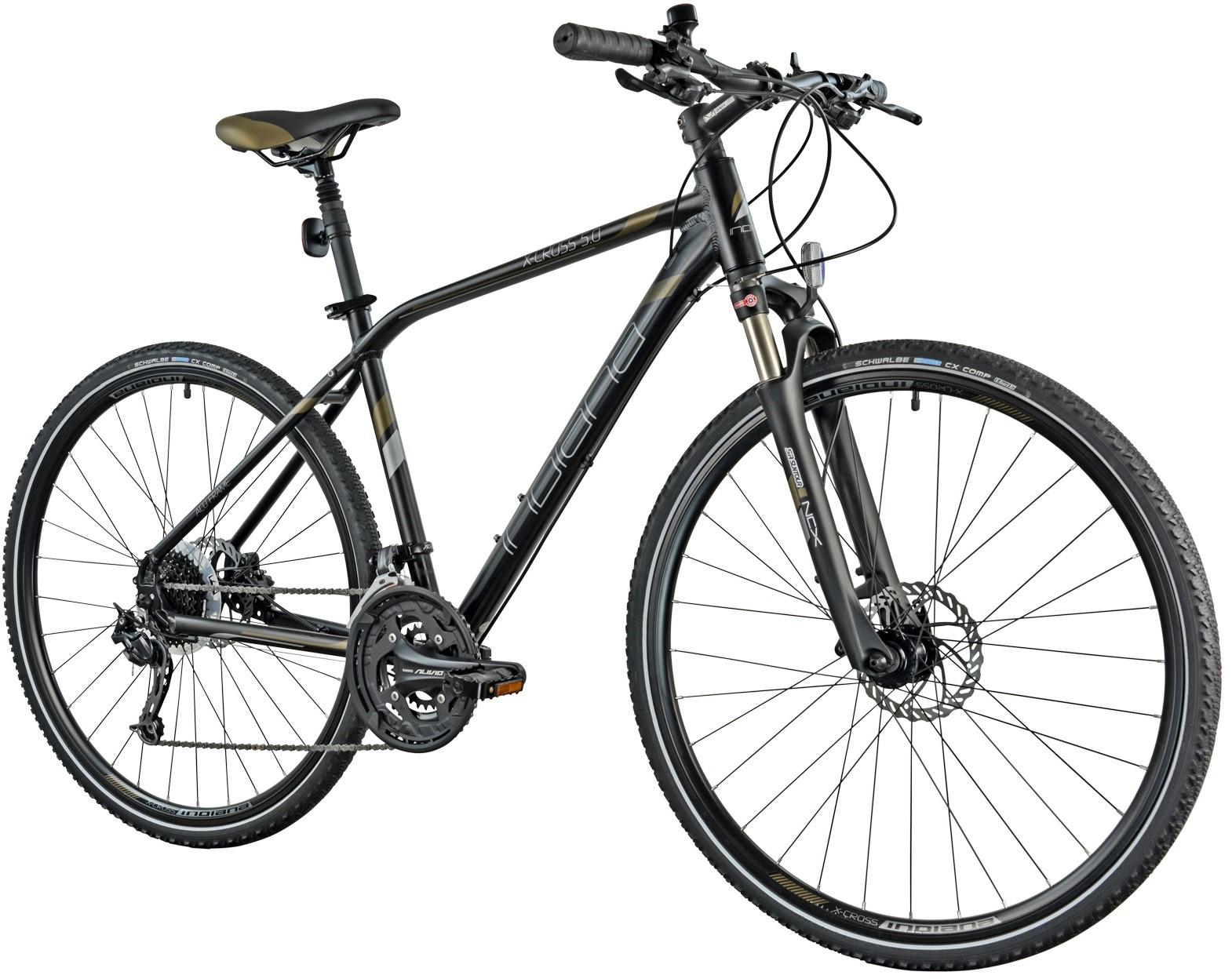 Indiana X-Cross 5.0 Czarno-brązowy (19ME450)