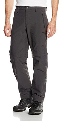 The North Face M Exploration Convertible spodnie męskie, szary T0CL9Q0C5REG34