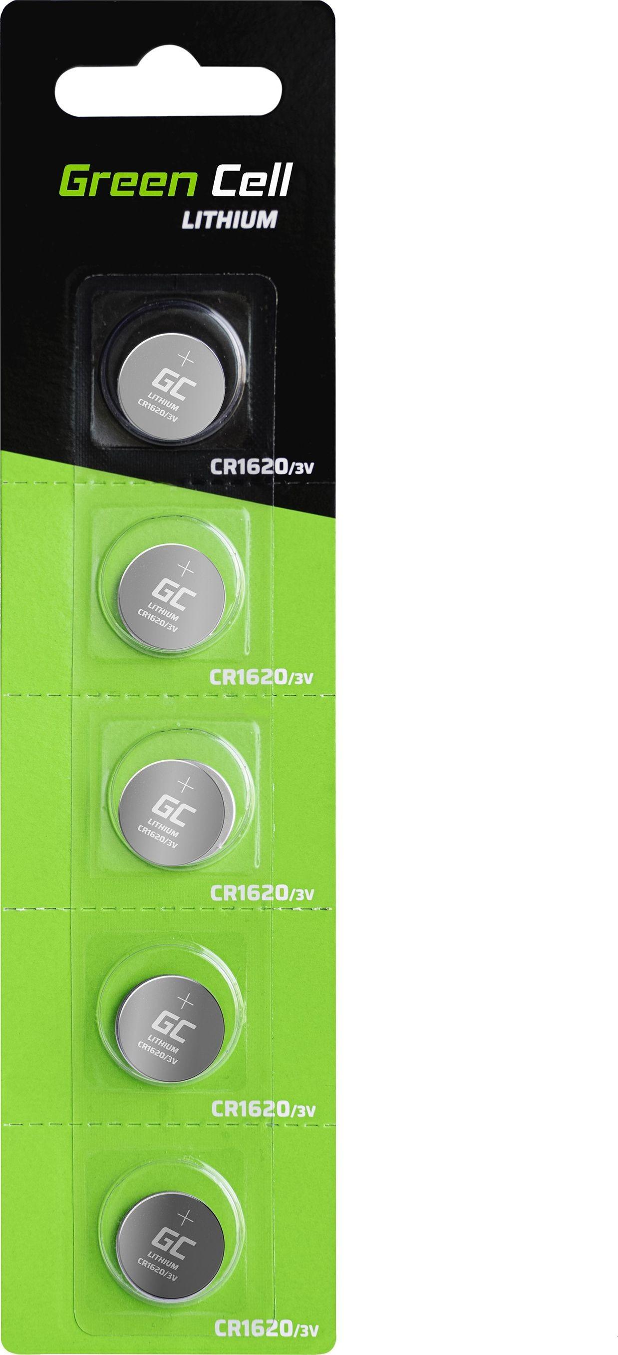 Green Cell Green Cell Bateria CR1620 70mAh 5szt