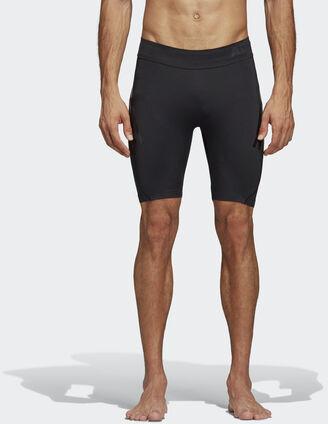 Adidas Legginsy krótkie Alphaskin Tech 3-Stripes DQ3571 Męskie Trening,Bieganie,Piłka Nożna,Outdoor,Joga