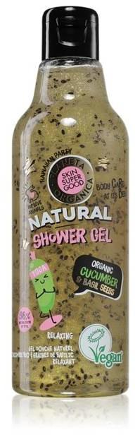 Planeta Organica Skin Super Good Żel pod prysznic Ogórek & Nasiona Bazylii 250ml 54167-uniw