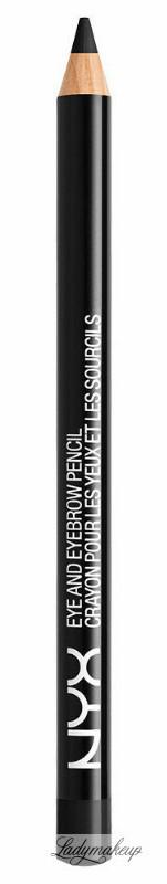 NYX Professional Makeup Professional Makeup - EYE AND EYEBROW PENCIL - Wielozadaniowa kredka do oczu - 907 - CAFE NYXSHEYE-ILCA