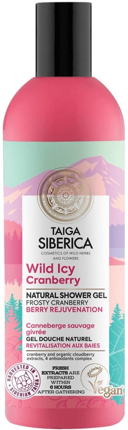 Natura Siberica Taiga Siberica, żel pod prysznic z dziką żurawiną Żurawinowa odnowa, 270 ml, 270 ml | SZYBKA WYSYŁKA!