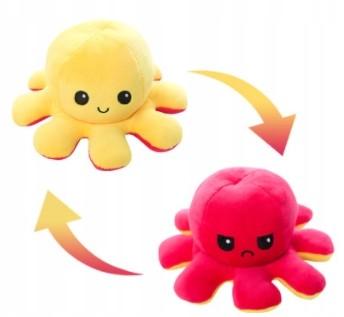 Dwustronny Pluszak Plush Octopus Zabawka