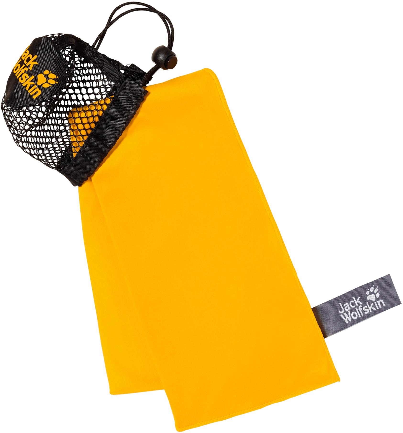 Jack Wolfskin Ręcznik szybkoschący WOLFTOWEL LIGHT L burly yellow