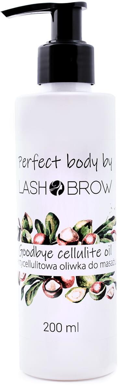 Lash Brow Lash Brow Goodbye Cellulite Oil - Antycellulitowa Oliwka do Masażu 200 ml 0000001758