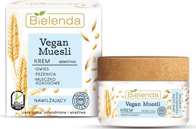 Bielenda Vegan Muesli krem nawilżający DZIEŃ/NOC 50ml 48886-uniw