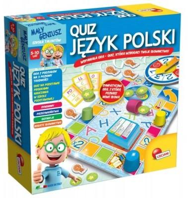Lisciani Giochi Mały Geniusz Quiz Język polski