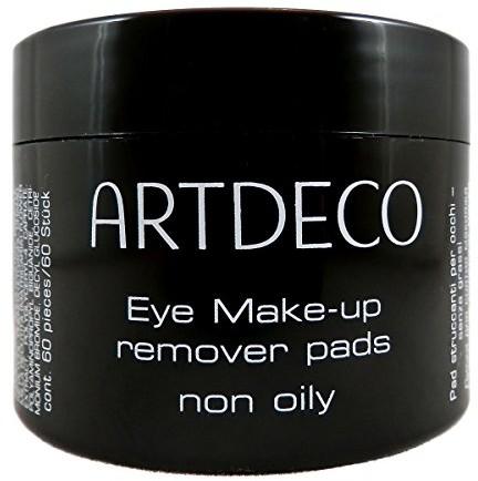 Artdeco Art Deco Eye Makeup Remover Pads zakurzone ani tłuste, 1er Pack (1X 60sztuk) 4019674029725
