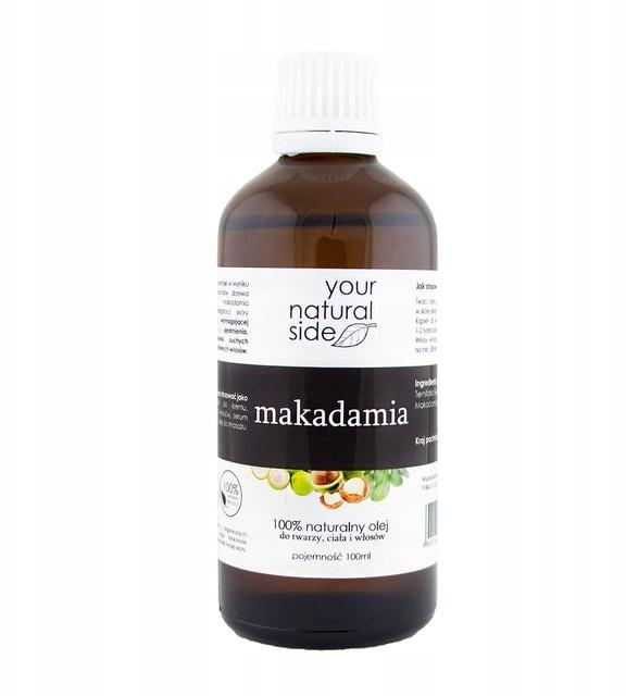 Your Natural Side zimnotłoczony olej makadamia 100