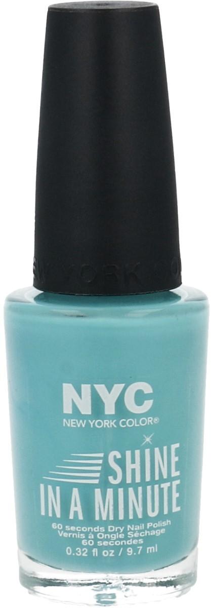 NYC Shine In A Minute Lakier Do Paznokci 320 Blue Sky