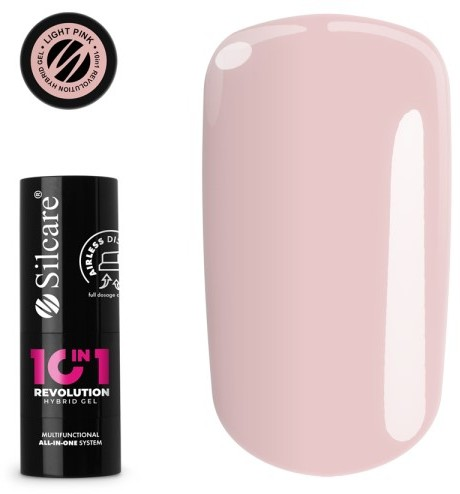 Vanity Silcare 10 in 1 Revolution Airless Lakier Hybrydowy Light Pink 15g BU503015PINK