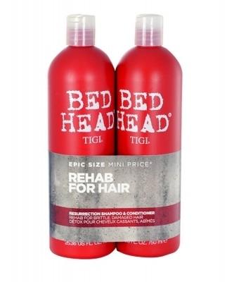 Tigi Bed Head Resurrection zestaw 750ml Bed Head Resurrection Shampoo + 750ml Bed Head Resurrection Conditioner dla kobiet