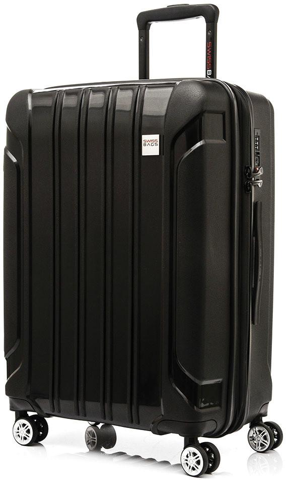 9580bba13b022 Swissbags WALIZKA TOURIST II 65 CM (M) CZARNA SB391