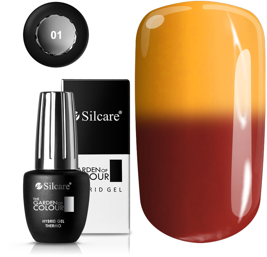 Silcare OUTLET The Garden of Colour Lakier Hybrydowy Thermo 9 g