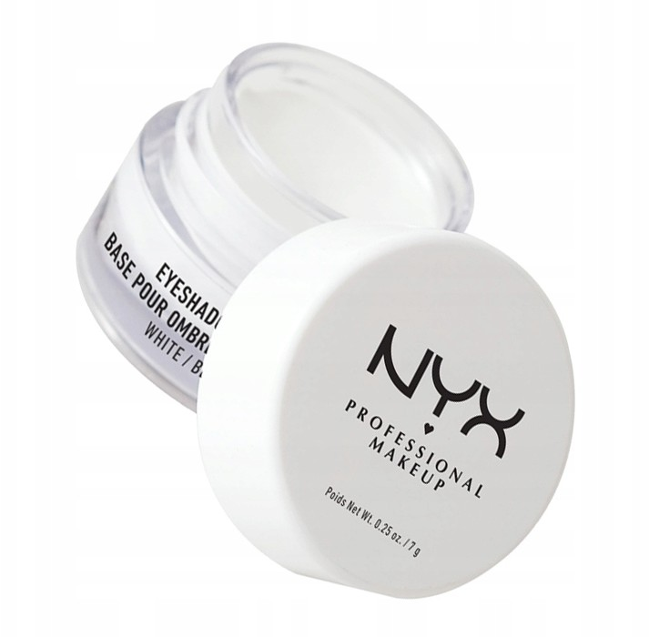 NYX Eyeshadow Base Baza Pod Cienie White 01 7G