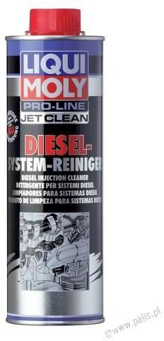 LIQUI MOLY Płyn do czyszczenia wtryskiwaczy DIESEL Jet Clean Tronic 500ml 20452 20452
