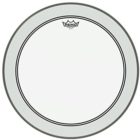 Remo P3  1320-C2 Bass Drum powerstroke 3 Clear 50,8 cm (20 cali) P3-1320-C2