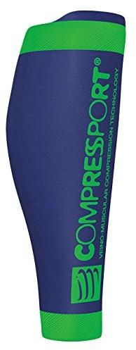 CompresSport Calf R2 v2 ocieplacze na łydki, niebieski, T4 CS2R2V2-5080_5080_T4
