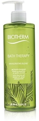 Biotherm Bath Therapy Invigorating Blend Body Cleansing Gel Ginger&Peppermint 400ml