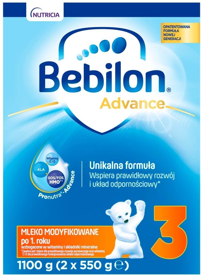 Bebilon NUTRICIA CUIJK B.V Advance 3 1100 g