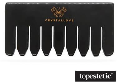 Crystallove Crystallove Grzebień z Czarnego Obsydianu Kamień wielkiej mocy 1 szt