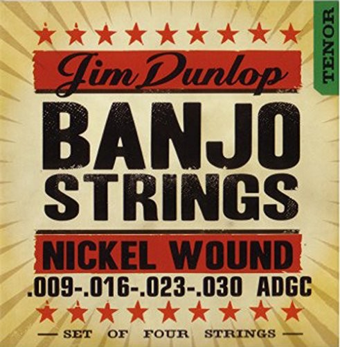 Dunlop DL STR djn 009/030 Banjo Nickel Strings Tenor 4 String 38320093001