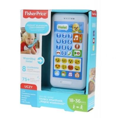 Fisher Price Uczący smartfonik Szczeniaczka Nagraj wiadomość FPR18