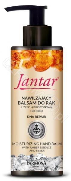 Farmona Jantar nawilżający balsam do rąk z esencją bursztynową i srebrem 100 ml