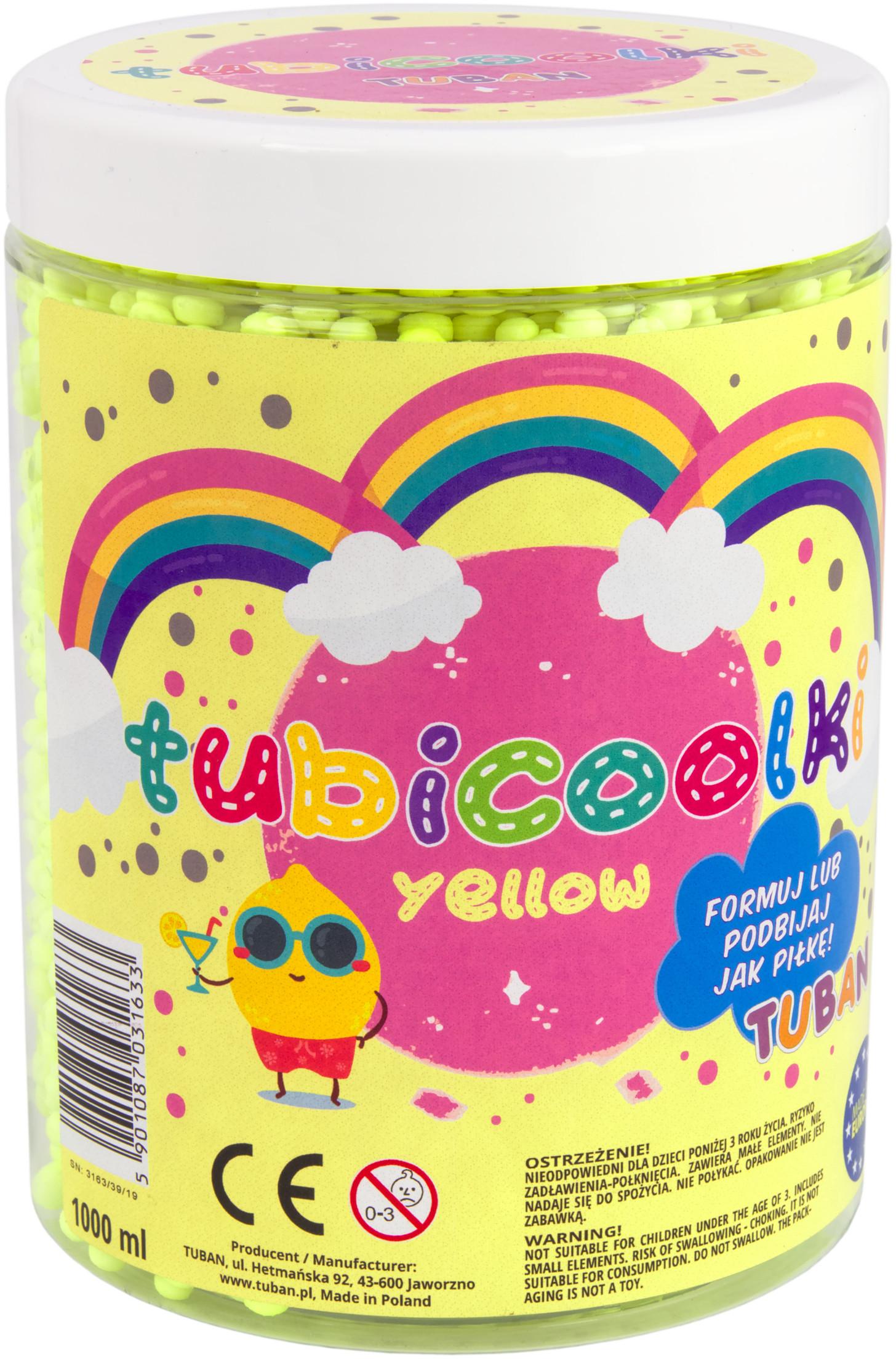 Tuban Tubicoolki żółte 1l