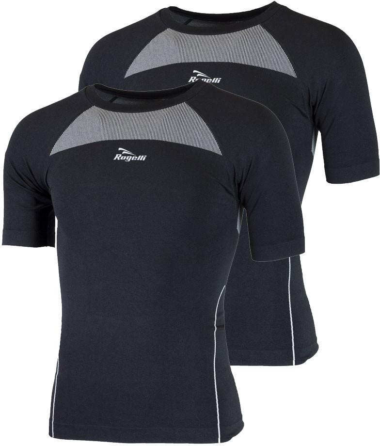Rogelli CORE 2-pak bielizna koszulka termoaktywna krótki rękaw czarny 070.021
