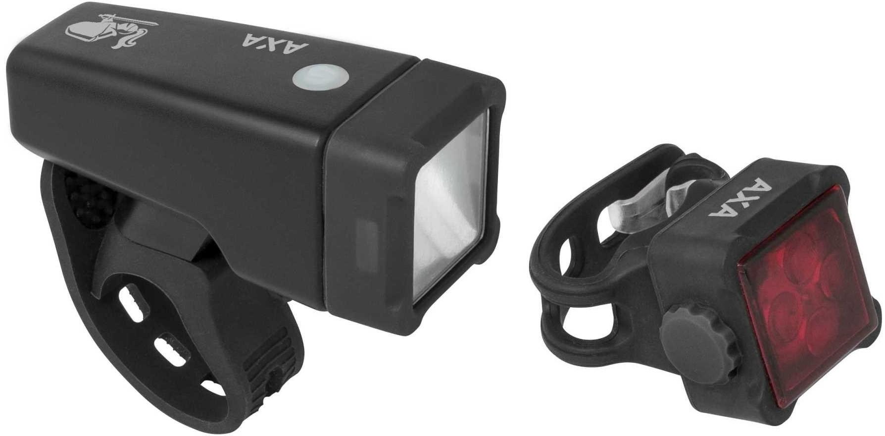 Axa zestaw lampek rowerowych Niteline T4 R
