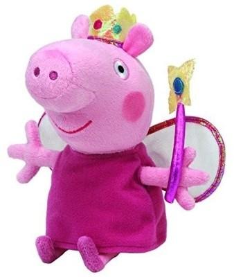 Peppa Pig Beanie Babies winka Peppa księżniczka średnia Ty Inc
