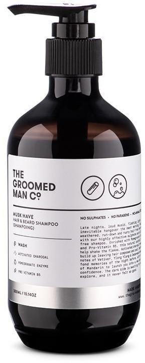 THE GROOMED MAN CO THE GROOMED MAN CO Pielęgnacja włosów MUSK HAVE SHAMPOO 300 ml